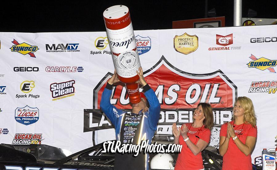 Bloomquist Best in Budweiser 50 at Tri-City Speedway