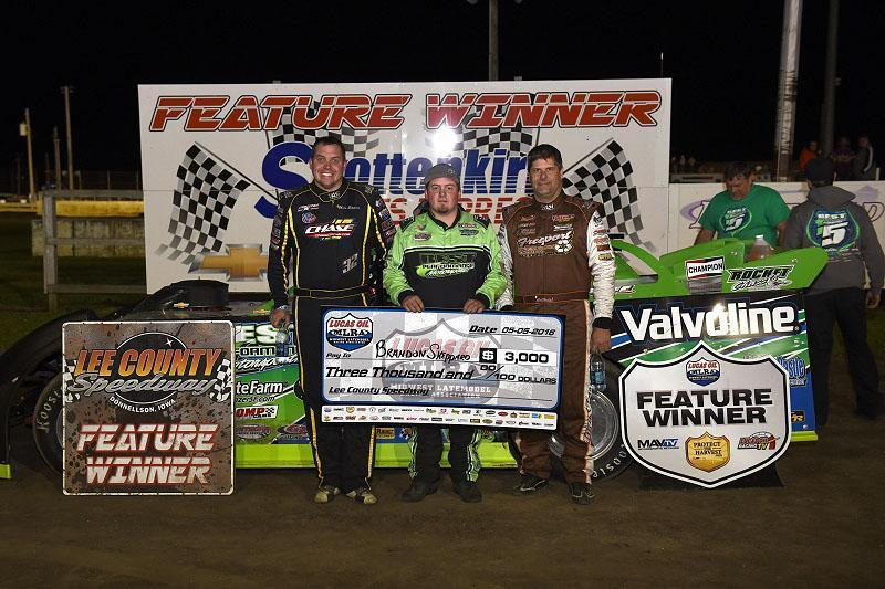 Sheppard strongest in Lucas Oil MLRA tilt at Donnellson