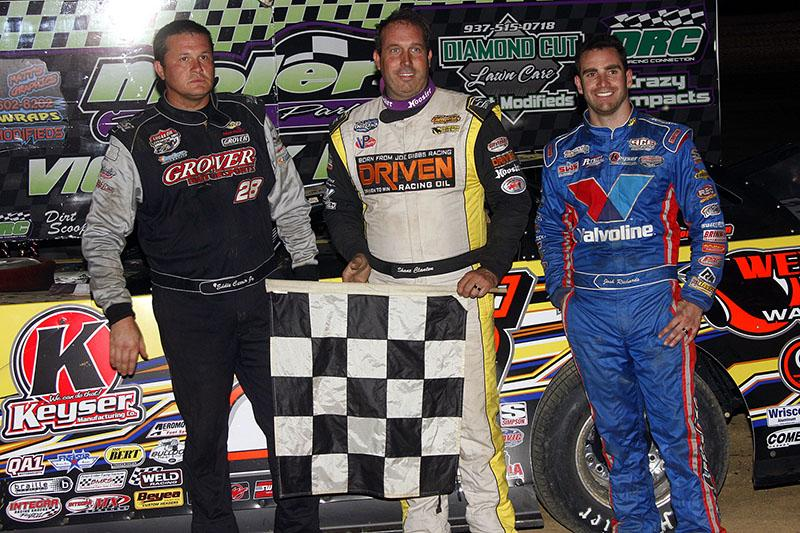 Clanton Captures win No. 4 at Moler Raceway Park