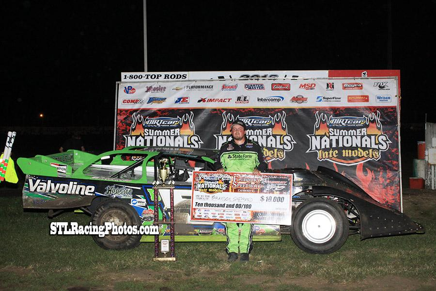 Brandon Sheppard takes Fairbury Speedway's Summer Nationals win!