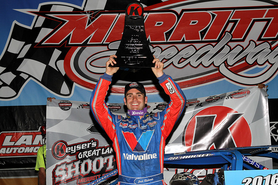 Runaway Richards: Wins No. 17 at Merritt
