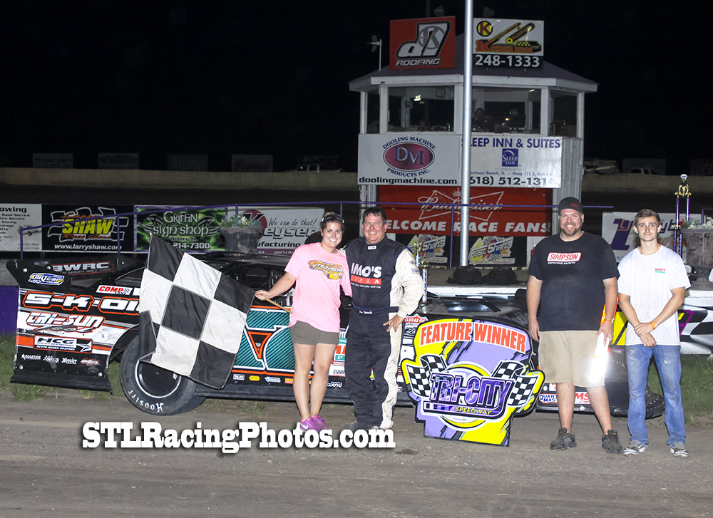 Jim Shereck, Michael Long, Tommie Seets, Jr., Jacob Rexing & Adam Webb take wins at Tri-City Speedway!
