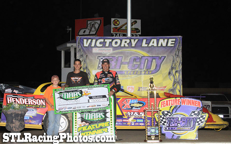 Billy Moyer takes MARS DIRTcar Series win at Tri-City Speedway!