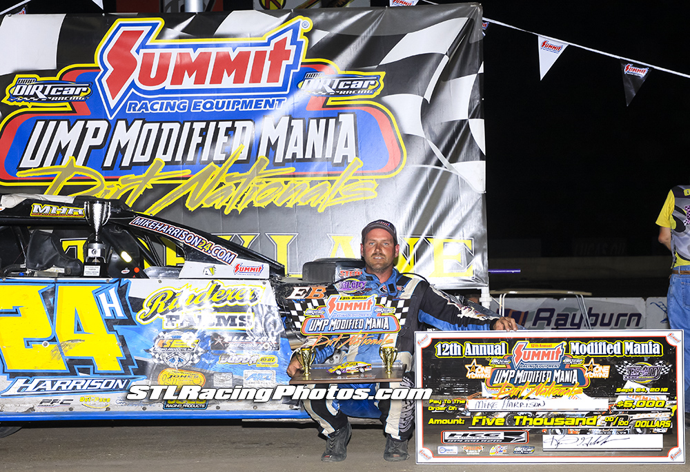 Mike Harrison wins Tri-City Speedway's Modified Mania!