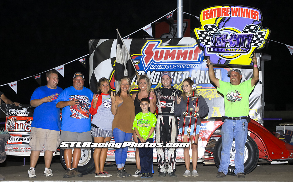 Bobby Pierce completes the 3 day sweep at Tri-City Speedway!