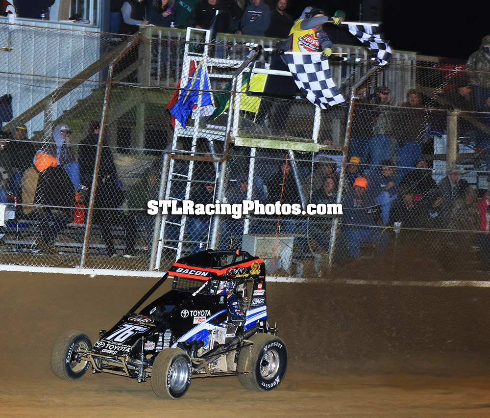 "BACON A BEAST IN ""JASON LEFFLER MEMORIAL"" SCORE AT WAYNE CITY"