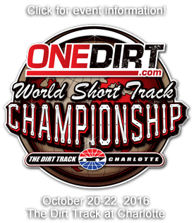 OneDirt World Short Track Championship Welcomes Division Sponsors