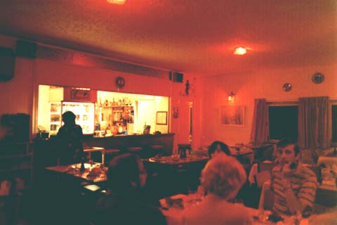 Bahia Bar interior, 1982
