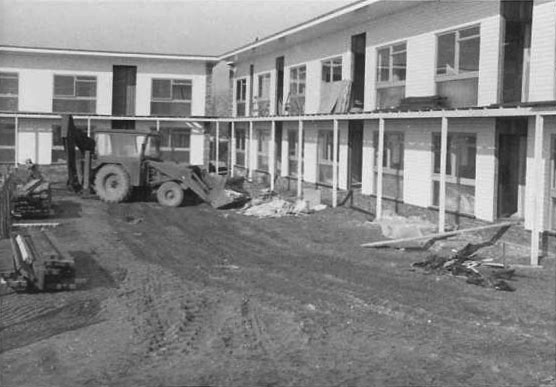 Nearing completion, early 1971