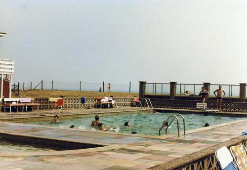 The pool, August 1982