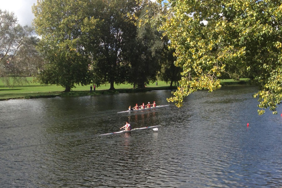 This year's St Neots Rowing Club Small Boats Head attracted 350 competitors from 11 rowing clubs, competing in 39 categories.