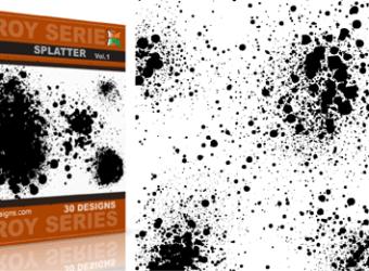 vector_and_brush_splatter_vol_1