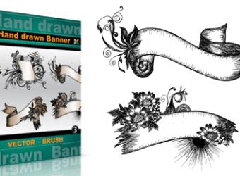 vector_brush_hand_drawn_banners_Vol_3