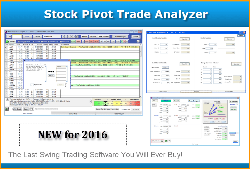 pivot trader main screen