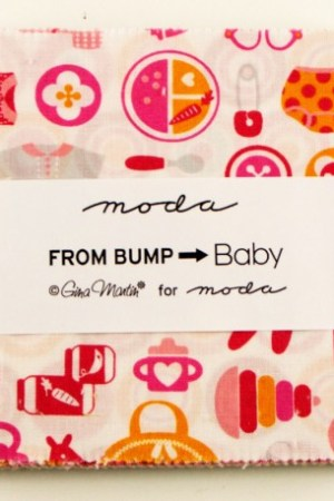Charm Pack From Bump To Baby by Gina Martin