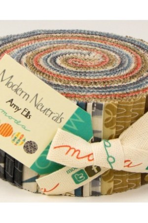 Jelly Roll Modern Neutrals by Amy Ellis