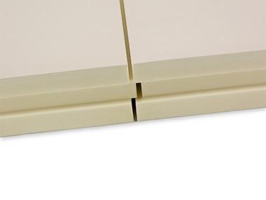 Termoizoliacines plokstes is poliuretano putu PIR su aliuminio folija termPIR AL briauna TAG STOGRENTA