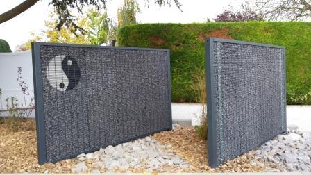mieux que les murs en gabion les panneaux modulaires en. Black Bedroom Furniture Sets. Home Design Ideas