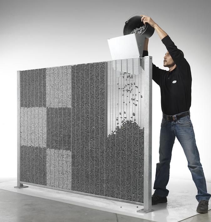 mieux que les murs en gabion les panneaux modulaires en gabions stonefence stonefence. Black Bedroom Furniture Sets. Home Design Ideas