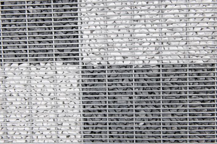 Mieux que les murs en gabion les panneaux modulaires en gabions stonefence stonefence - Mur en cailloux ...
