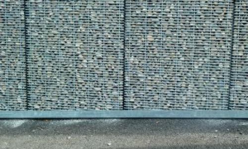 Parement De Mur Et Habillage En Gabion Stonefence