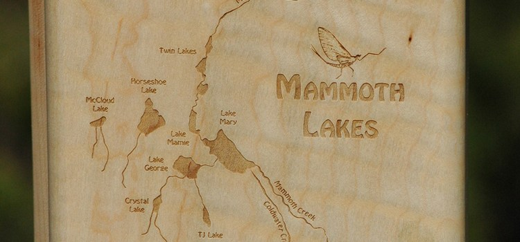 WEEKLY SPECIAL – MAMMOTH LAKES RIVER MAP FLY BOX sale $69.99 (reg. $89.99) 6/26-7/9, 2017 – Mammoth Lakes Basin is Open!
