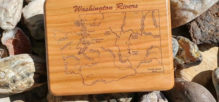 WEEKLY SPECIAL – WASHINGTON RIVERS MAP FLY BOX $69.99 (reg. $89.99)  6/12 – 6/18, 2017. Fly Fishing Washington's Premier Rivers.