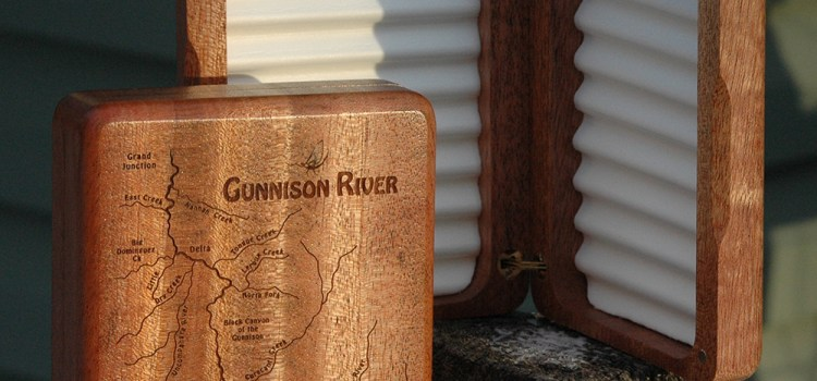 WEEKLY SPECIAL – GUNNISON RIVER MAP FLY BOX on SALE $69.99 (reg. price $89.99) 9/18-9/27/2017  FLY FISHING THE BLACK CANYON OF THE GUNNISON COLORADO