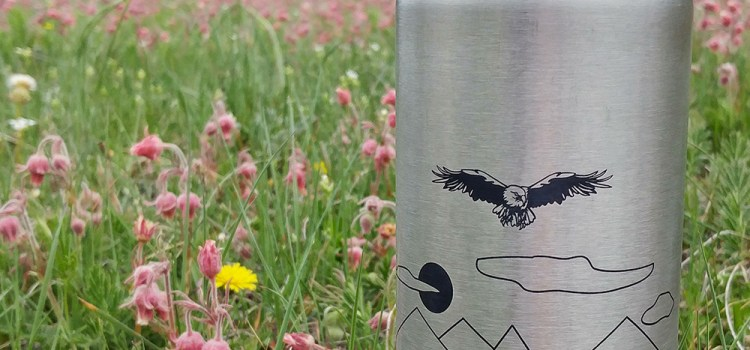 """WEEKLY SPECIAL – """"INTO THE WILD"""" WATER BOTTLES $21.99 (reg. $29.99) INCLUDES PERSONALIZATION 8/14-27/2017"""