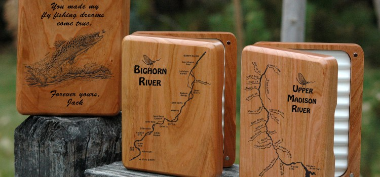10% OFF ALL OUR RIVER MAP FLY BOXES THIS WEEKEND ONLY!!!  100's OF RIVER MAPS TO CHOOSE FROM.  Feb. 3-4, 2018