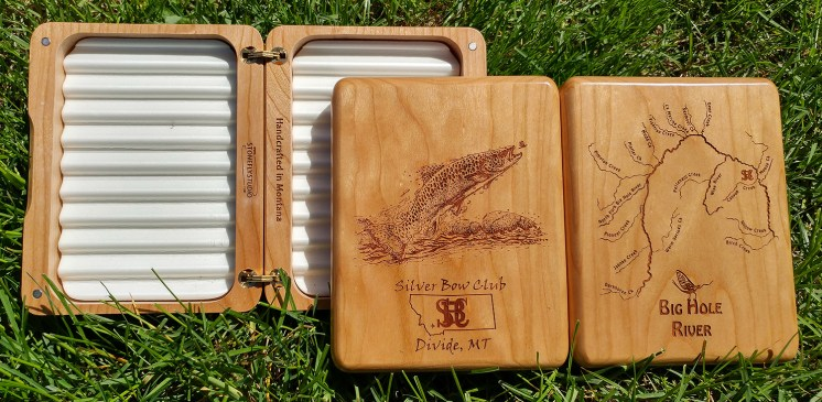 Silver Bow Club Custom Fly Box