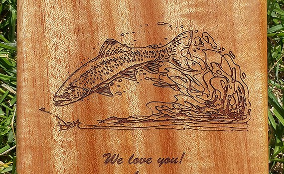 ORDER EARLY FOR FATHER'S DAY AND SAVE!!!!  15% OFF OUR FATHER'S DAY CUSTOM RIVER MAP FLY BOX.  Sale Ends May 31, 2018.  Reg. $89.99 Sale $76.49