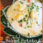StoneGable Loaded Baked Potato Soup