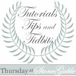 TUTORIAL TIPS AND TIDBITS REMINDER