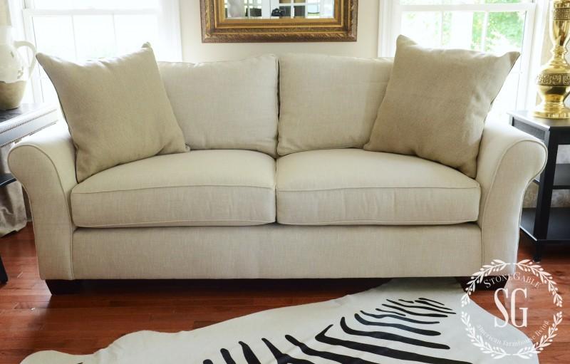 sofa pillows- end pillows-stonegableblog.com