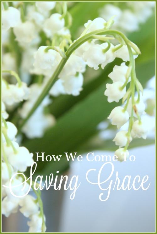 HOW WE COME TO SAVING GRACE- 1-31-16-stonegableblog.com
