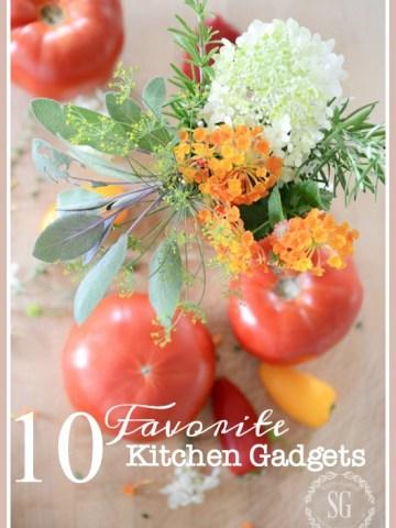 10 FAVORITE KITCHEN GADGETS