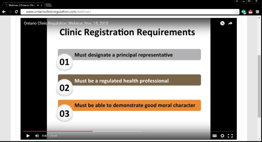 OCR Screen Shot Clinic Rg Requirements No Unregulated.png