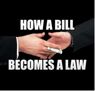 Image How a bill becomes a law