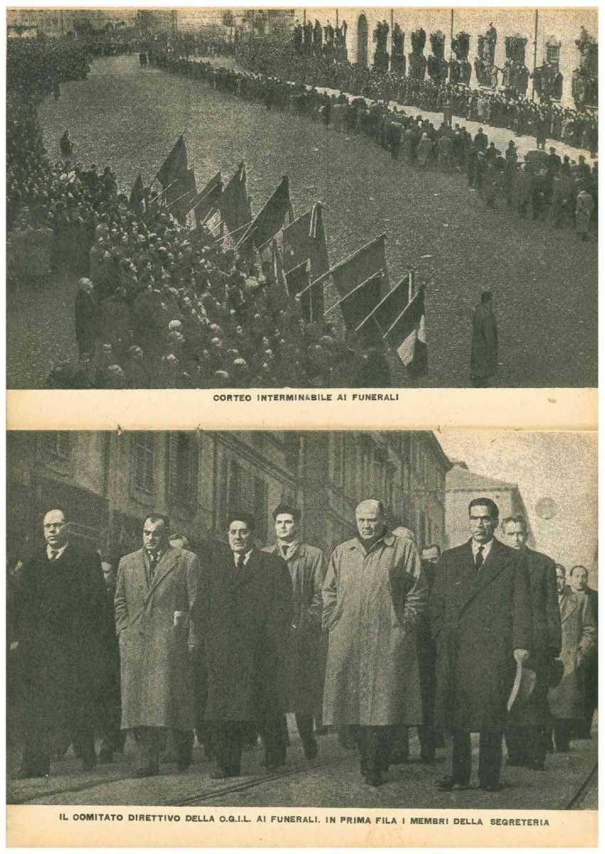 Da Melissa a Modena. Gli eccidi proletari durante le lotte per il Piano del Lavoro in un instant-book della Cgil