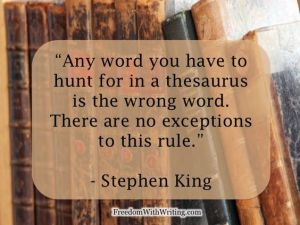 Stephen King, the greatest detriment to writers