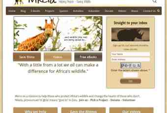 Nikela – Helping People – Saving Wildlife