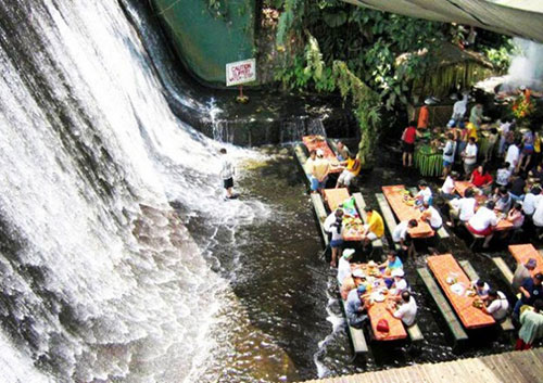 Villa-Escudero-Waterfalls-Restauran