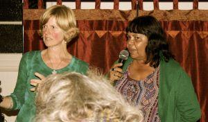 Lois Cook, Nyanbul custodian with Jenni