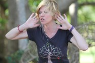 Jenni Cargill-Strong tells nature tales at the 'Living Earth Festival'