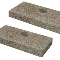 QuadraFire Replacement Brick with Holes Pkg of 2 (SRV436-0380)