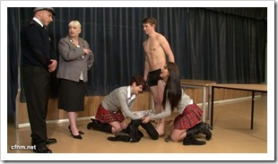 clother female - nude male - Business Fair Demonstration (5)