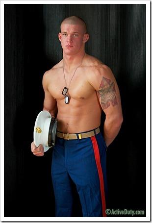 porn-army-gay-Semper Shredded Tanners Uniformed Solo (4)
