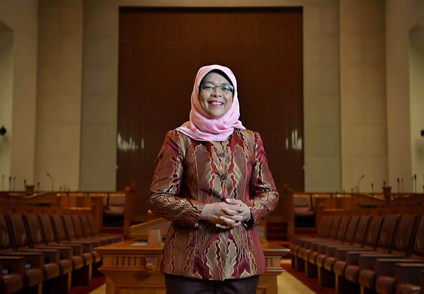 singapore budget 2017 substantive help for elderly needy says halimah news top stories the straits times