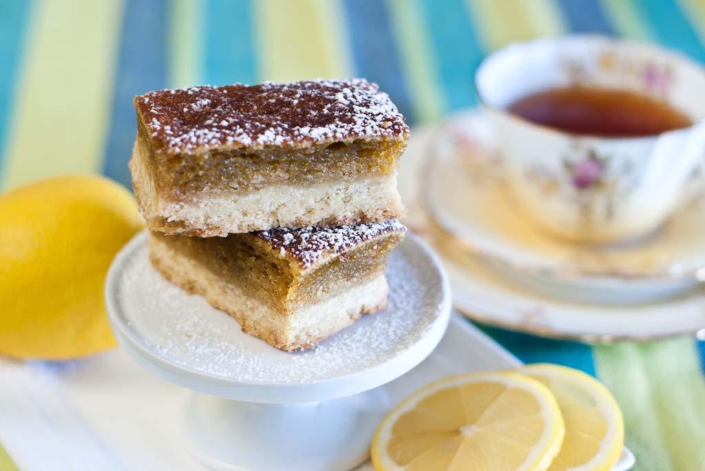 Lemon Bars - a gluten-free recipe and low FODMAP